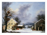 Jones Inn Giclee Print by George Henry Durrie