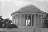 Jefferson Memorial with Profile of Statue of Jefferson Photographic Print by GE Kidder Smith