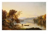 Lake George Giclee Print by Jasper Francis Cropsey