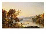 Lake George Giclee Print by Jasper Francis Cropsey