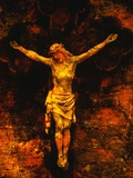 Jesus on the Cross Photographic Print by Andre Burian