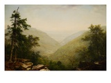 Kaaterskill Clove Giclee Print by Asher B. Durand