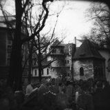 Jewish Cemetery Photographic Print by Annette Fournet