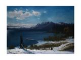 Lake Tahoe Giclee Print by Albert Bierstadt