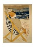 La Passagere Du 54 Ou Promenade En Yacht Giclee Print by Henri de Toulouse-Lautrec