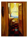 Marci's Bathroom Giclee Print by Pam Ingalls