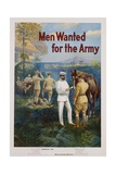 Men Wanted for the Army Recruitment Poster Giclee Print by Michael P. Whelan