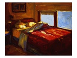 Mary's Guest Room Giclee Print by Pam Ingalls