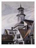Methodist Church, Provincetown Premium Giclee Print by Edward Hopper