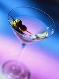 Martini with Olives Photographic Print by Danilo Calilung