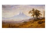 Mount Hood Giclee Print by Albert Bierstadt