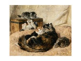 Mothercare Giclee Print by Henriette Ronner-Knip