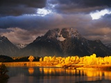 Mount Moran Photographic Print by Robert Glusic