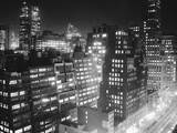 New York Garment District Skyline Photographic Print by Bert Brandt