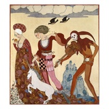 Medieval Scene Giclee Print by Georges Barbier
