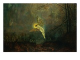 Midsummer Night Giclee Print by John Atkinson Grimshaw