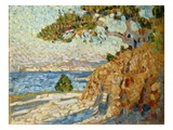 Midi Landscape Giclee Print by Theo van Rysselberghe