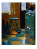 Nannette's Kitchen Giclee Print by Pam Ingalls