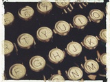 Old Typewriter Keys Photographic Print by Jennifer Kennard