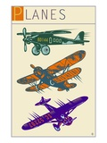 Planes Giclee Print by Steve Collier