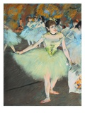 On Stage Giclee Print by Edgar Degas