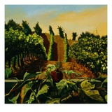 Persephone in the Vineyard Giclee Print by Anne Belov