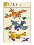 Planes II Giclee Print by Steve Collier