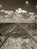 Old Railroad Tracks Photographic Print by Aaron Horowitz
