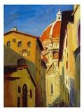 Peaking Duomo Gicléetryck av Pam Ingalls