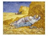 Vincent van Gogh - Noon: Rest Digitálně vytištěná reprodukce