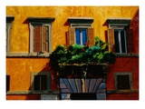 Piazza Farnese Giclee Print by Anne Belov