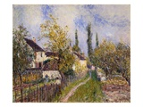 Painting of the French Countryside by Alfred Sisley Giclee Print by Geoffrey Clements