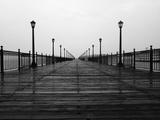 Pier 7 Boardwalk in San Francisco Photographic Print by Karen Huntt