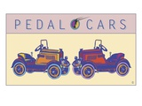 Pedal Cars Giclee Print by Steve Collier