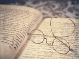 Reading Glasses Photographic Print by Jennifer Kennard