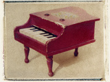 Red Piano by Jennifer Kennard Photographic Print by Jennifer Kennard