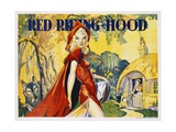 Red Riding Hood Color Print Giclee Print