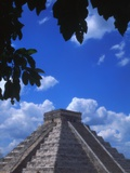 Pyramid of Kukulcan Photographic Print by Paul Edmondson