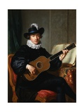 Portrait of Monsieur Aublet Giclée-Druck von Guillaume Voiriot