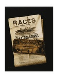 Races, Saratoga, Ten Dollar Bill Giclee Print by Nicholas Alden Brooks