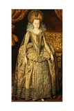 Portrait of Queen Elizabeth of Bohemia Giclee Print by Robert Peake The Elder