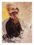Self Portrait Giclee Print by Mary Cassatt