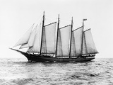 Short-Masted Schooner Photographic Print by  Bettmann