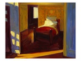 Shakespeare's Bed Giclee Print by Pam Ingalls