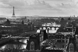 River Seine and the City of Paris Photographic Print by Peter Turnley