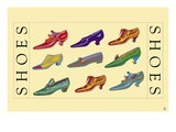 Shoes Giclee Print by Steve Collier