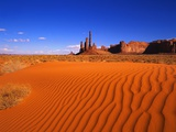 Sandy Landscape in Monument Valley Photographic Print by Robert Glusic