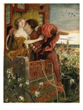 Romeo and Juliet Giclee Print by Ford Madox Brown