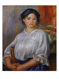 Seated Girl Giclee Print by Pierre Auguste Renoir