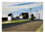 Route 6, Eastham Reproduction proc&#233;d&#233; gicl&#233;e par Edward Hopper